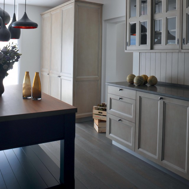 Classic kitchen built in the tradition of fine French cabinetmaking - 1
