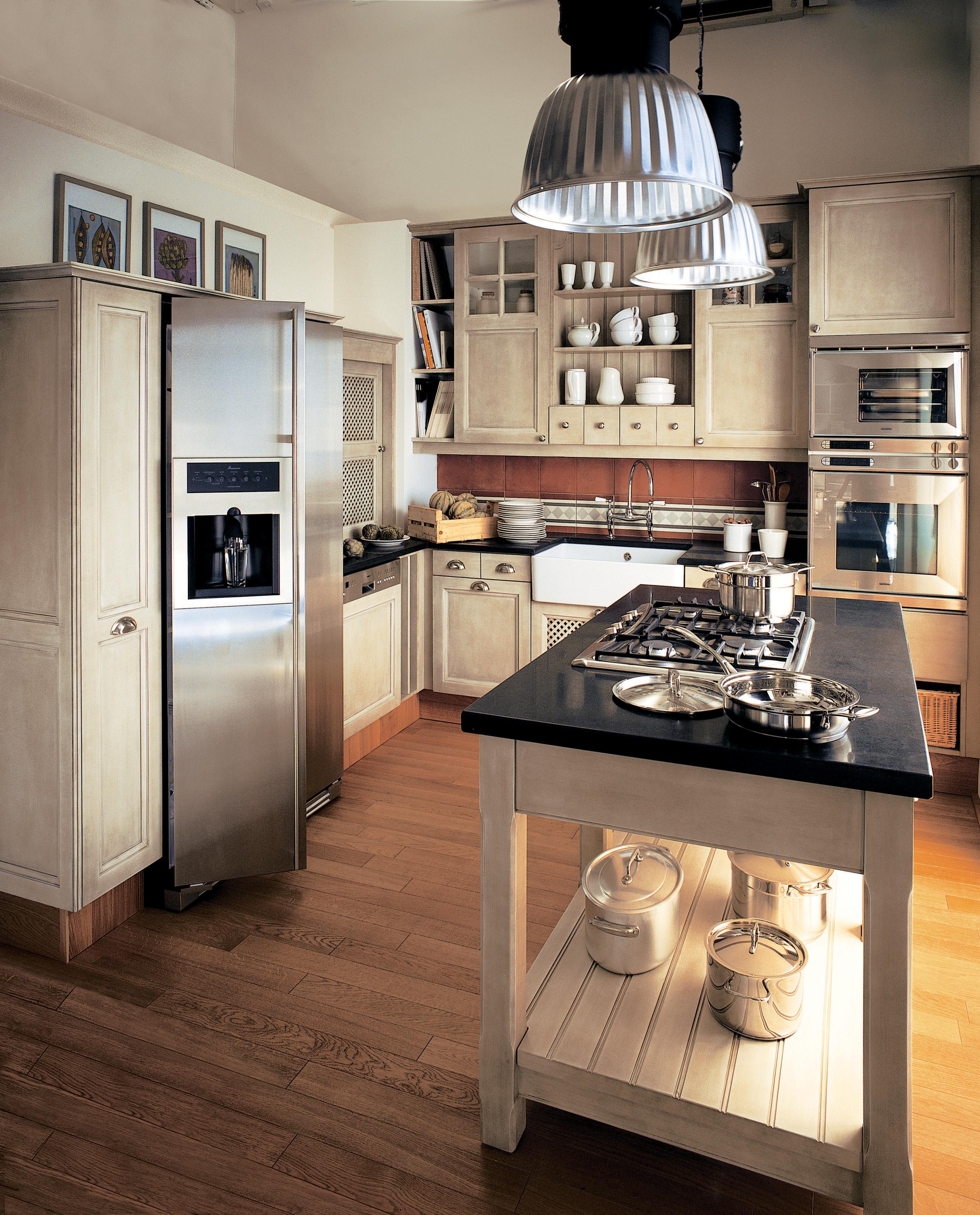 ambiance cuisine proven ale classique au dynamisme r invent atelier de saint paul. Black Bedroom Furniture Sets. Home Design Ideas