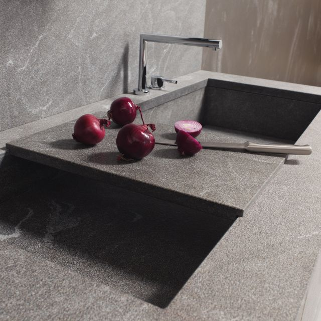 A custom stone kitchen with the perfect dose of minerality - 1