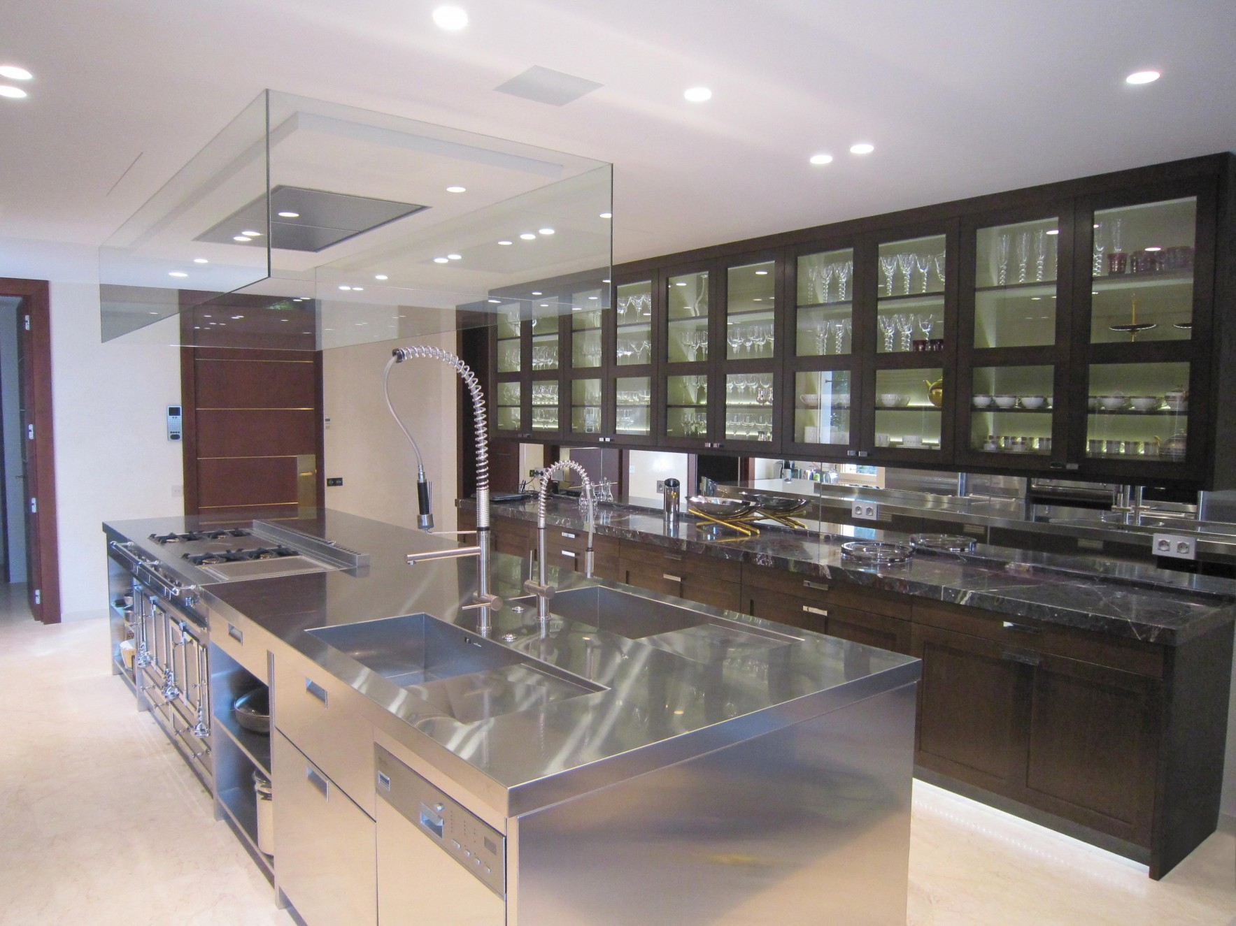 Chef's kitchens equipped with the latest technology