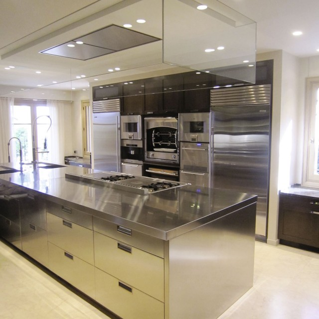 Chef's kitchens equipped with the latest technology - 1