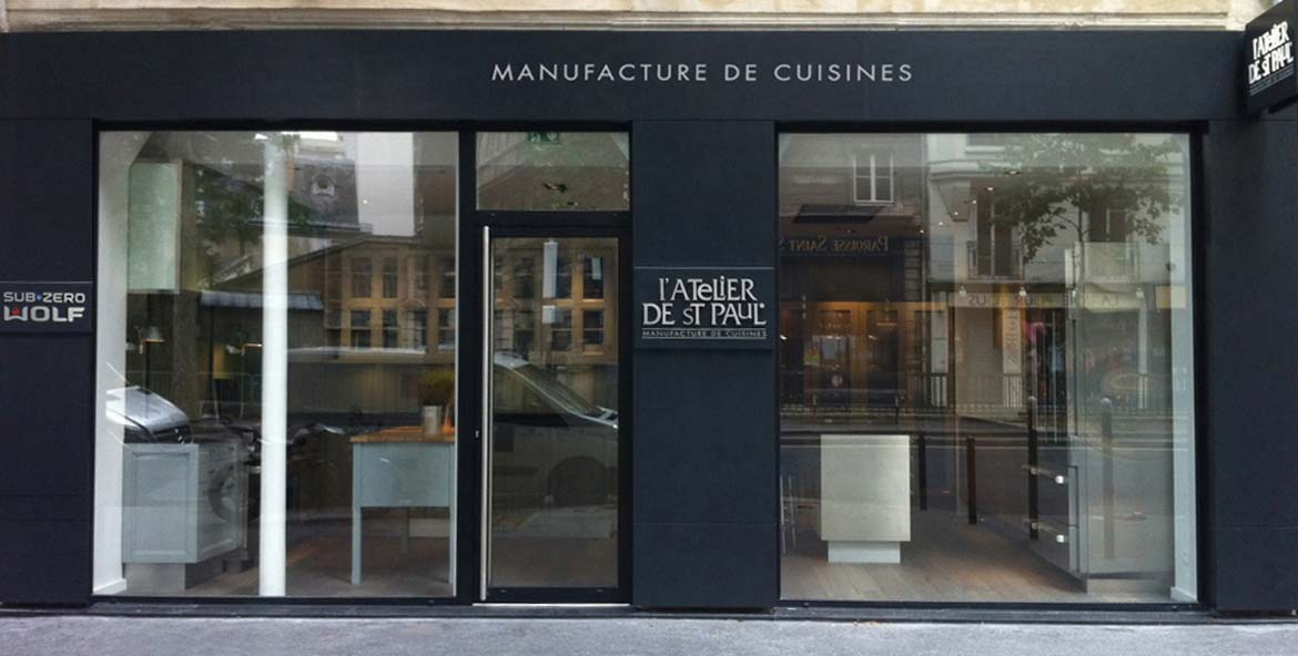 Cuisine paris atelier de saint paul for Showroom cuisine