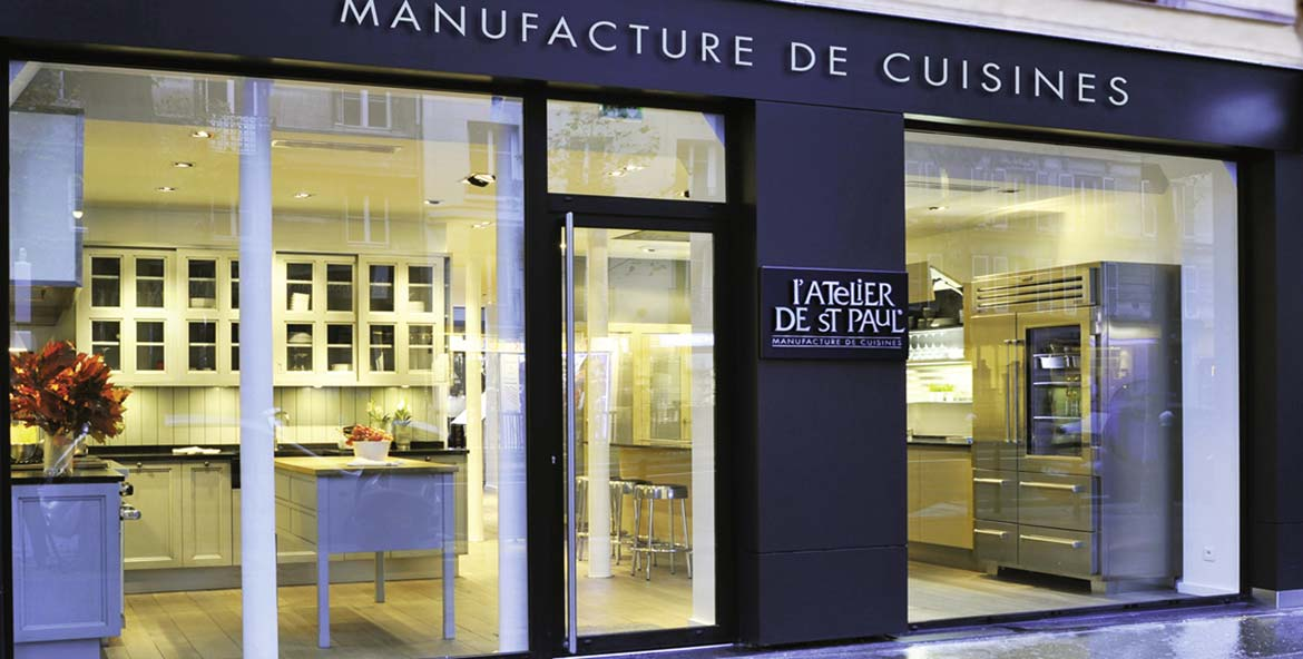 Cuisine aix en provence atelier de saint paul for Showroom cuisine