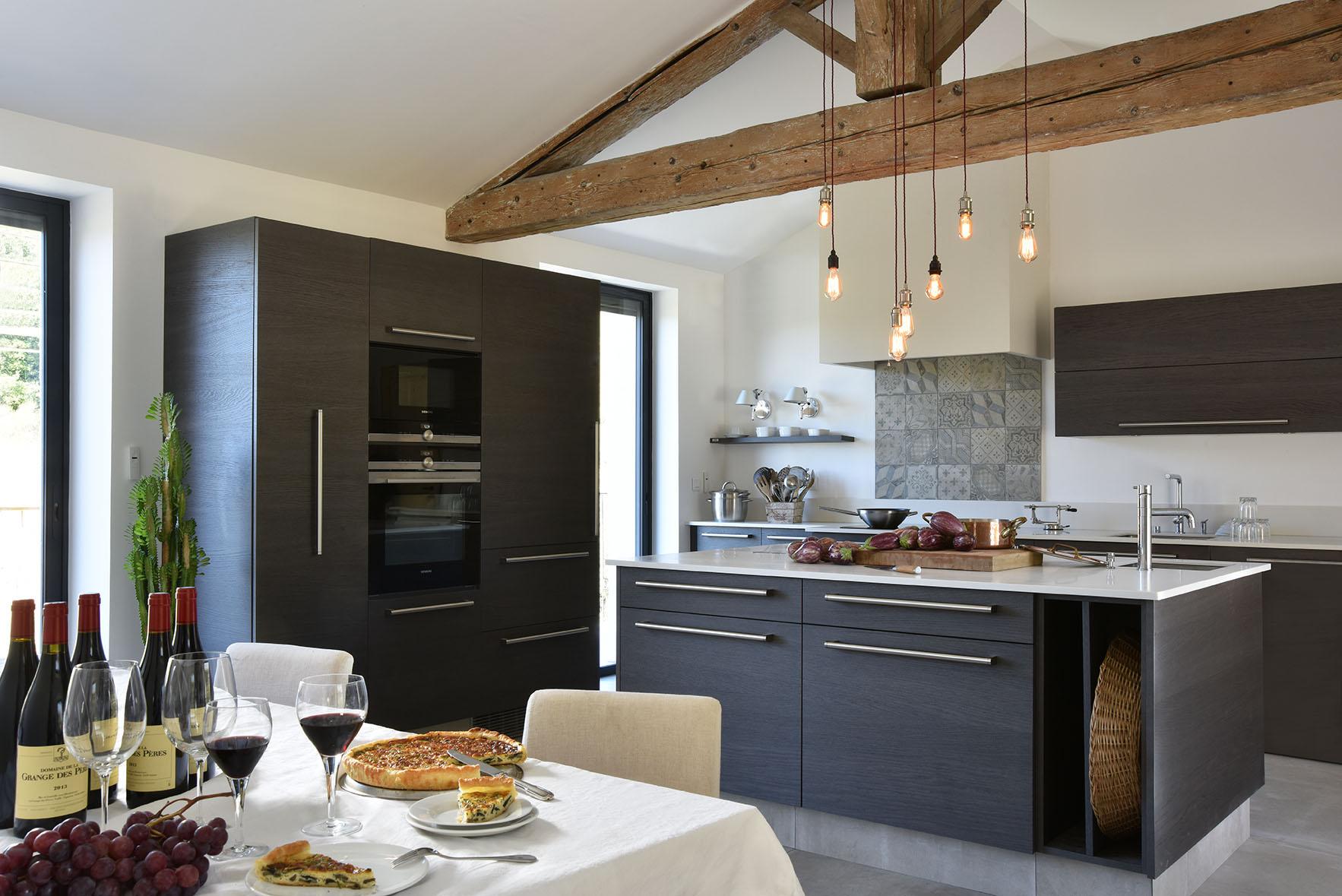 Charming kitchen, reclaimed oak