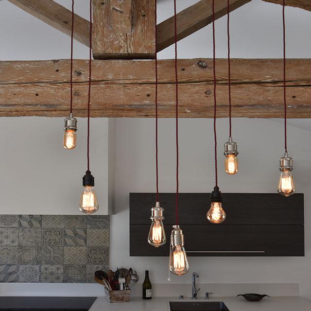 Charming kitchen, reclaimed oak - 1