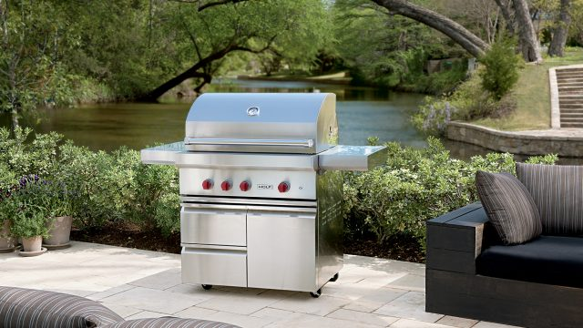 Outdoor grill and equipment made by WOLF, the trusted brand for high-quality cooking equipment.