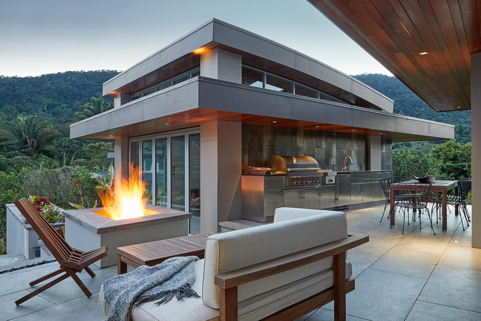 Barbecue et appareils de Pool House WOLF, la référence qualitative dans le domaine.